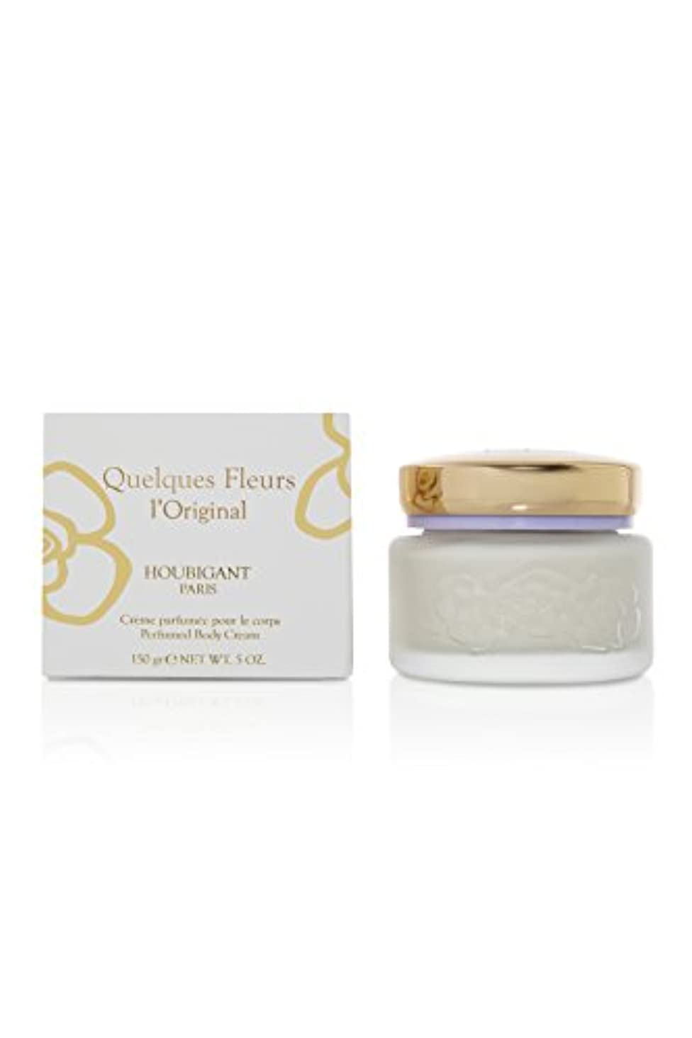 色合い同僚マイクロQuelques Fleurs (ケルケス フリュール) 5.0 oz (150ml) Body Cream by Houbigant for Women