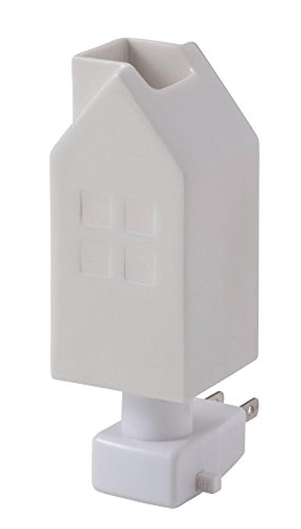 静めるバットビリーヤギイシグロ デザイン小物 ホワイト W4.8×D4.8×H13cm ハウスアロマライトコンセント型 ホワイト 20076