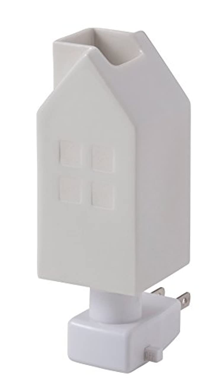 並外れて独立気をつけてイシグロ デザイン小物 ホワイト W4.8×D4.8×H13cm ハウスアロマライトコンセント型 ホワイト 20076