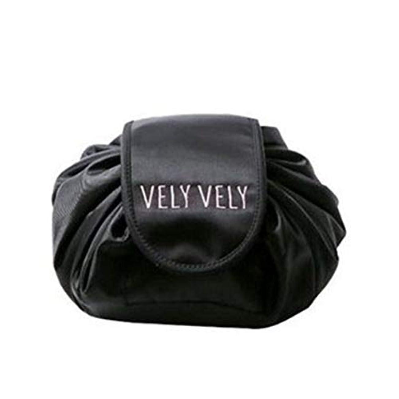 不純受賞に対処する[テンカ]化粧バッグ 収納 メイクバッグ 化粧ポーチ 大容量 レディース 旅行 おしゃれ 折畳式 巾着型 防水