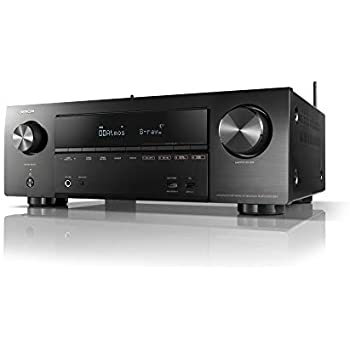 DENON AVサラウンドレシーバー 7.2ch Dolby Atmos Height Virtualizer /ブラック AVRX1600HK