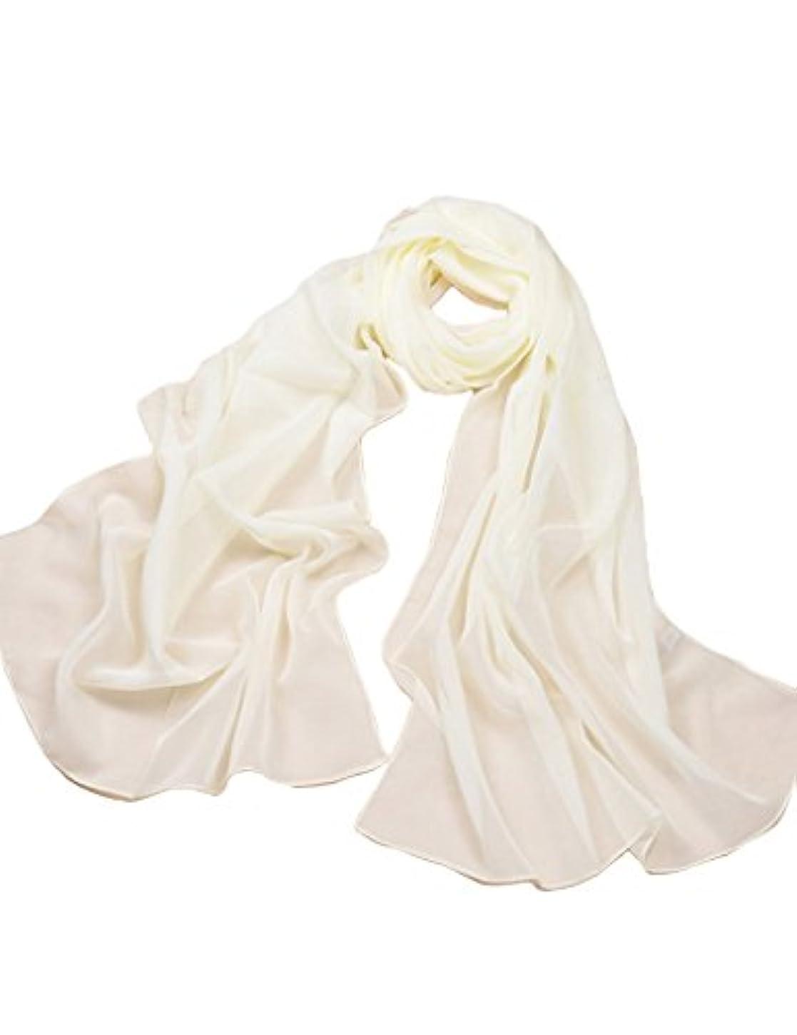 使用法低い大学生(ベストギフト)Bestgift 全20色 レディース ファッション UVカット スカーフ ベージュ フリーサイズ