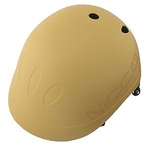 クミカ工業 Nicco ヘルメット ビートル/KM001/キッズ用/49-54cm/CE/日本製/ハードシェル マットマスタード