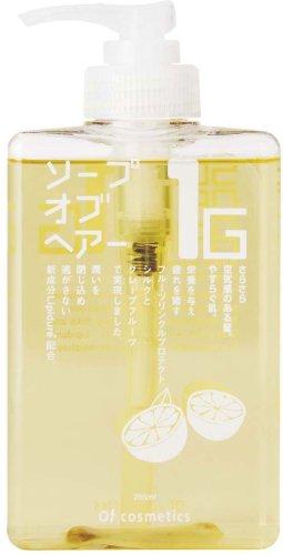 オブ・コスメティックス ソープオブへア・1-G スタンダードサイズ(グレープフルーツの香り) 265ml
