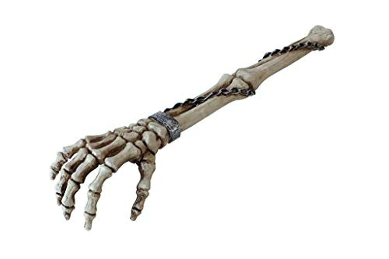 年次辞任する監査スケルトンアーム バックスクラッチャー(孫の手) Skeleton arm back scratcher