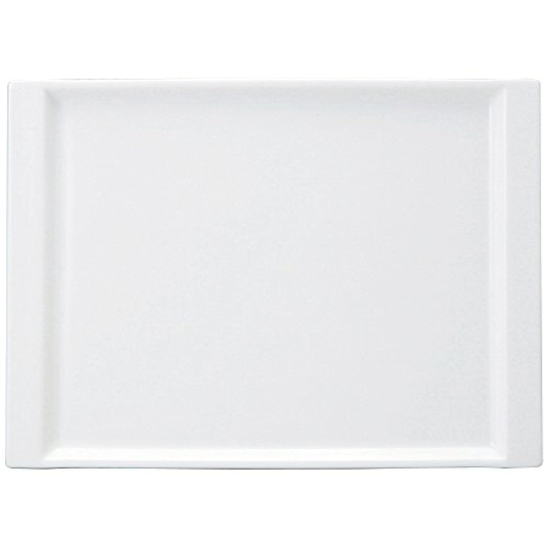 NARUMI(ナルミ) ホワイト 26cmオブロングトレイ 8725-9749
