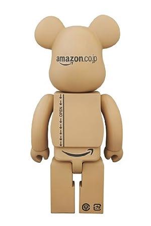 BE@RBRICK 400% Amazon.co.jp version(ABS&PVC塗装済みアクションフィギュア)