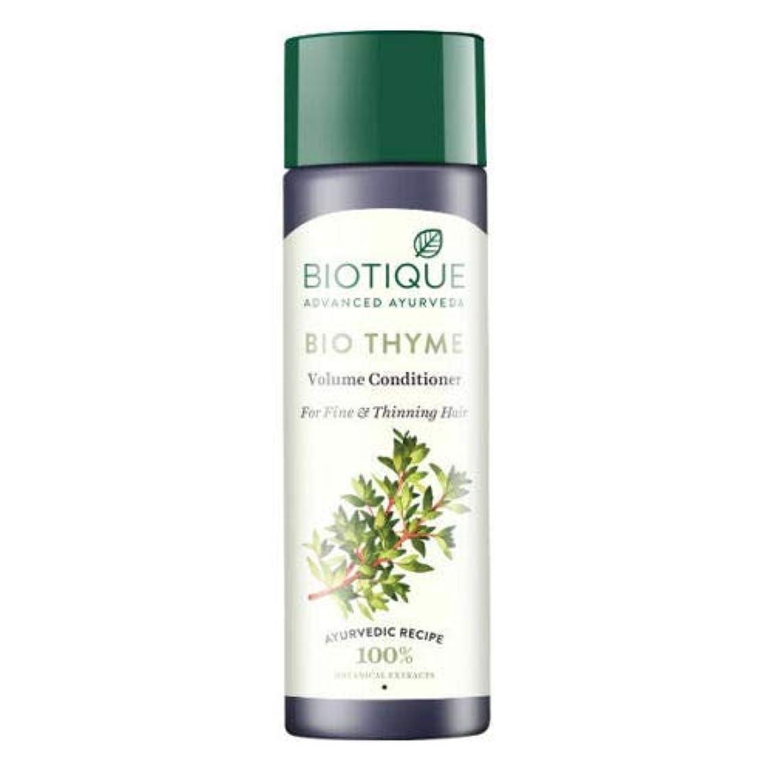 驚いた法王ペルメルBiotique Bio Thyme Fresh Sparkle Volume Conditioner 200 ml For Thinning Hair 薄くなる毛のためのBiotiqueバイオタイムの新しい輝きの量のコンディショナー