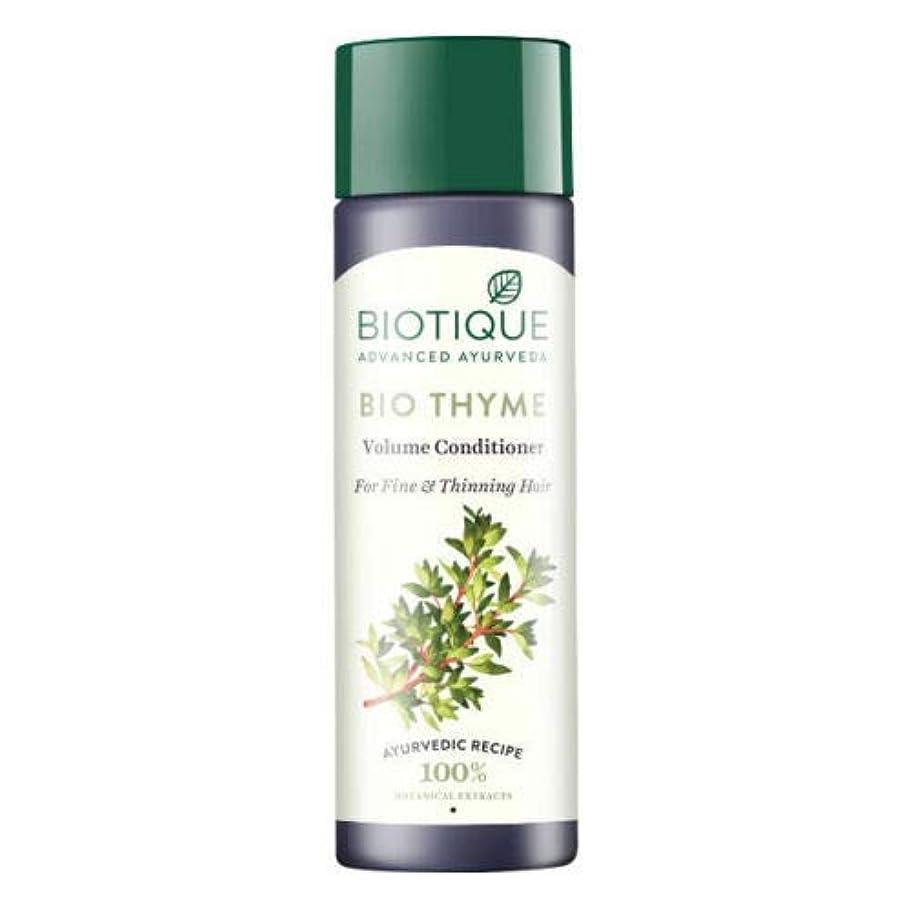 ハグ通貨マオリBiotique Bio Thyme Fresh Sparkle Volume Conditioner 200 ml For Thinning Hair 薄くなる毛のためのBiotiqueバイオタイムの新しい輝きの量のコンディショナー