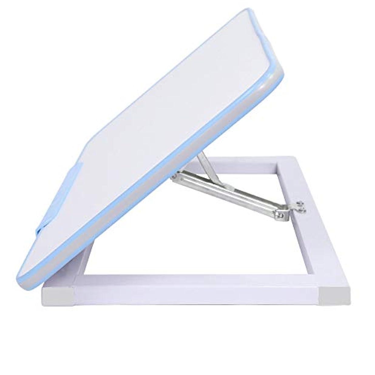 メイエラ多用途承認するLJHA zhuozi 補正テーブルリフト可能な子供の学習テーブルライティングデスク2色オプション (色 : 青)