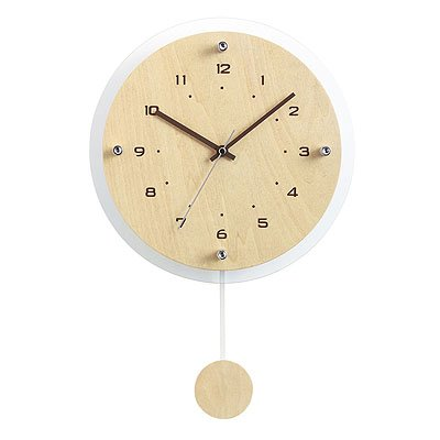 NOA(ノア)『ウォールクロック アンティール 電波振り子時計』