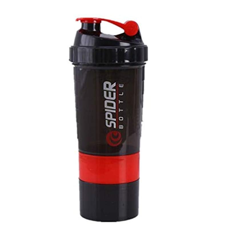 授業料雑品批評uzinby ブレンダーボトル プロテインパウダー揺れ瓶 プロテインシェーカー 栄養補助瓶 スナップ式 500ml