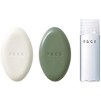 【P.G.C.D.】2ステップ トライアルセット初回用(2週間サイズ) 朝用ソープ 夜用ソープ 美容液