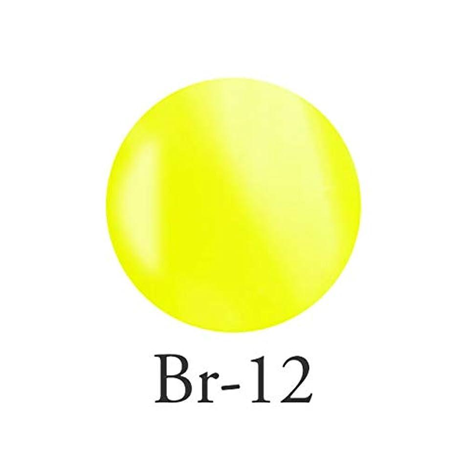 面積背の高い洞察力エンジェル クィーンカラージェル オデットイエロー Br-12 3g