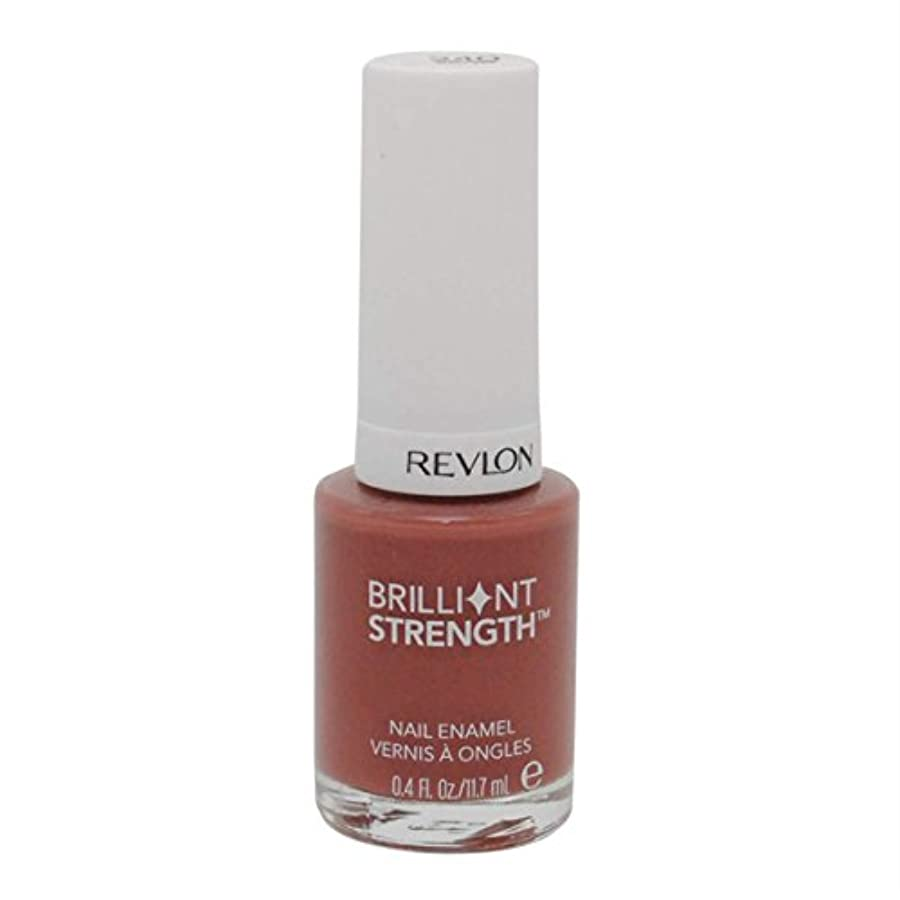 ボット四回郵便物REVLON BRILLIANT STRENGTH NAIL ENAMEL #240 INSPIRE