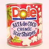 DOLE(ドール) 星型ナタデココ シラップ漬け 1H缶