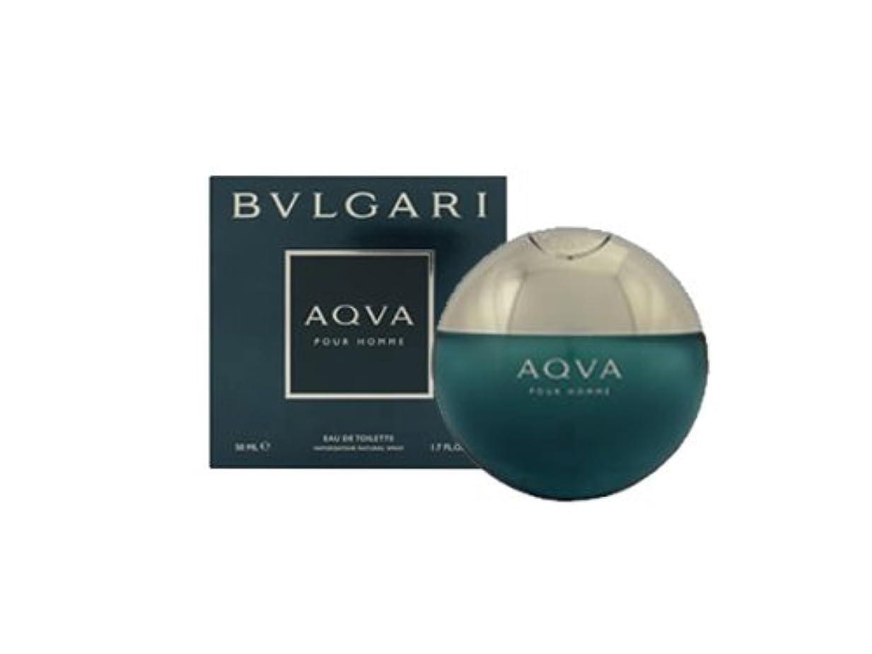 畝間微妙手ブルガリ(BVLGARI) アクア プールオム(50ml)EDT/SP[並行輸入品]