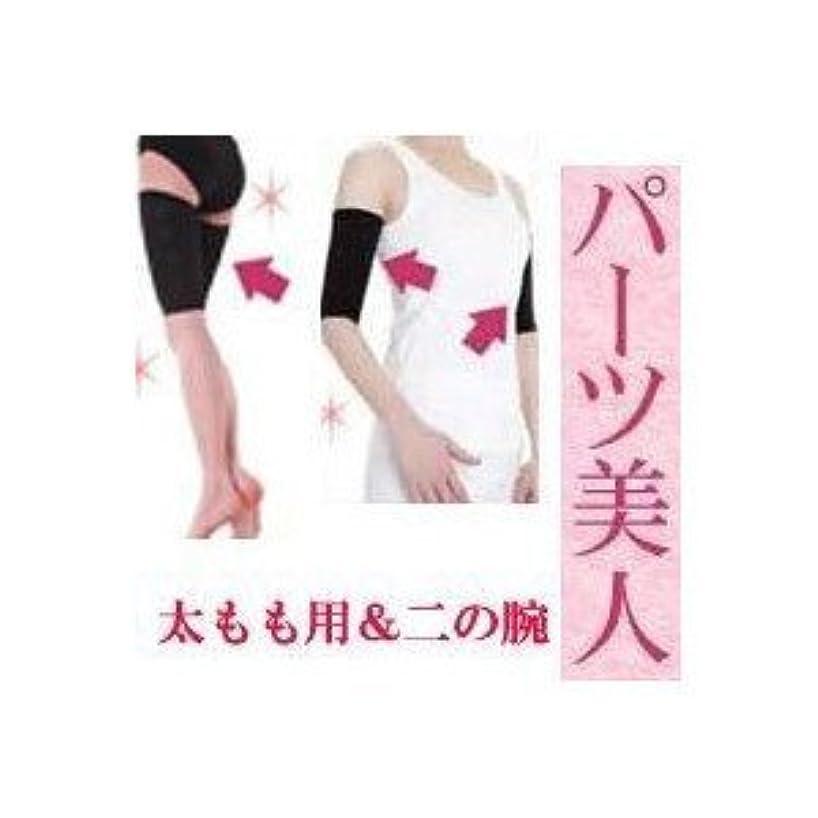 理解落ち着いた振動する太もも 着圧 インナー プラチナ パーツ美人 太もも用&二の腕セット