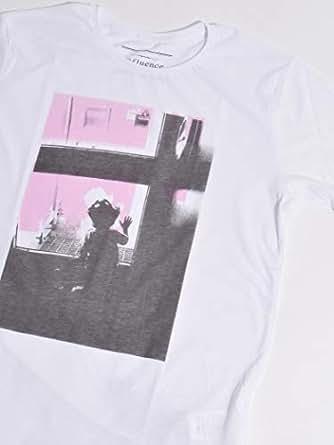 (シップスジェットブルー) SHIPS JET BLUE INFLUENCE×SHIPS JET BLUE: SATOMI OBARA フォトグラフィックTシャツ 122170008 日本 L-(日本サイズL相当) White2