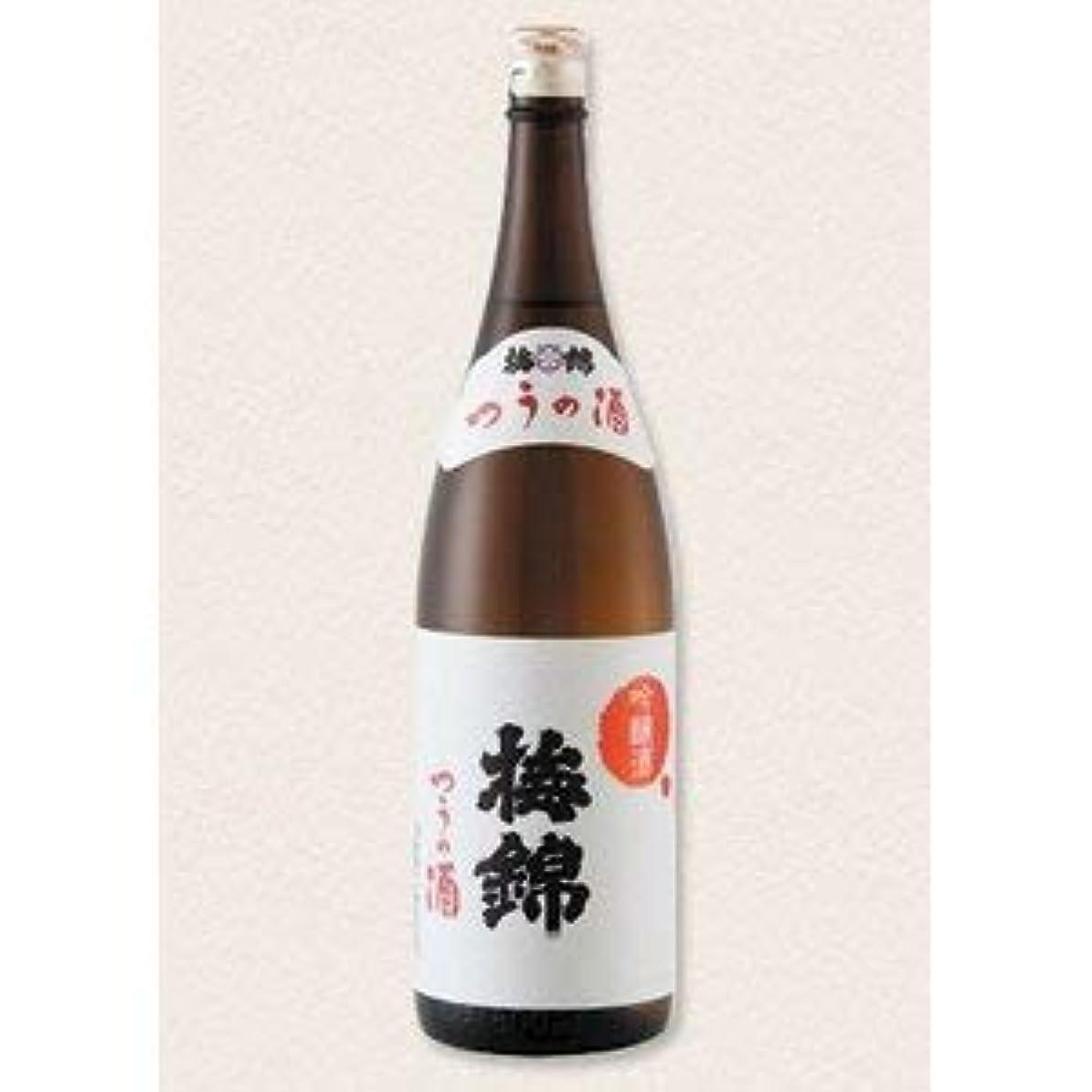 ボトルネック優遇装備する梅錦 吟醸 つうの酒 瓶 [ 日本酒 1800ml ]