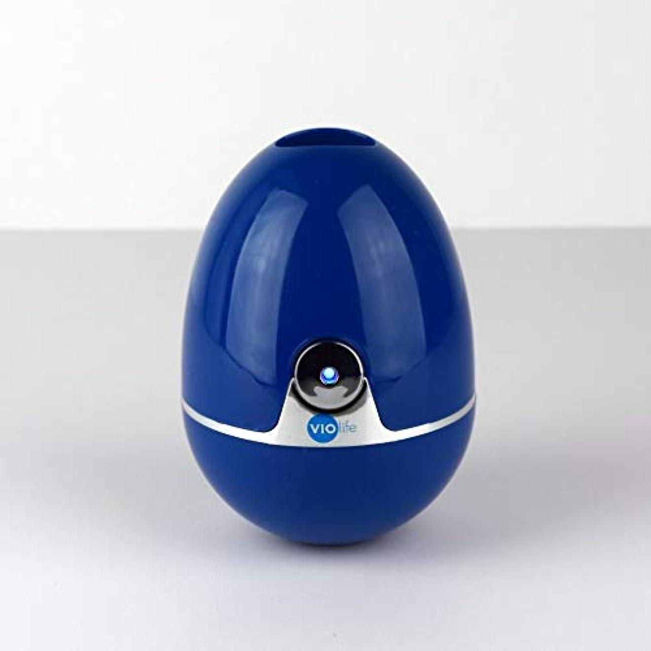ビデオ感心する苦行Zapi luxe UV Toothbrush Sanitizer Cobalt Blue