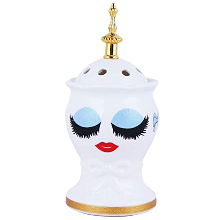 素晴らしいです柔らかさ小康Nexxa Beautiful Ceramic Incense Bakhoor/Oud Burner Frankincense Incense Holder with Attractive Eyes, Non Electric...