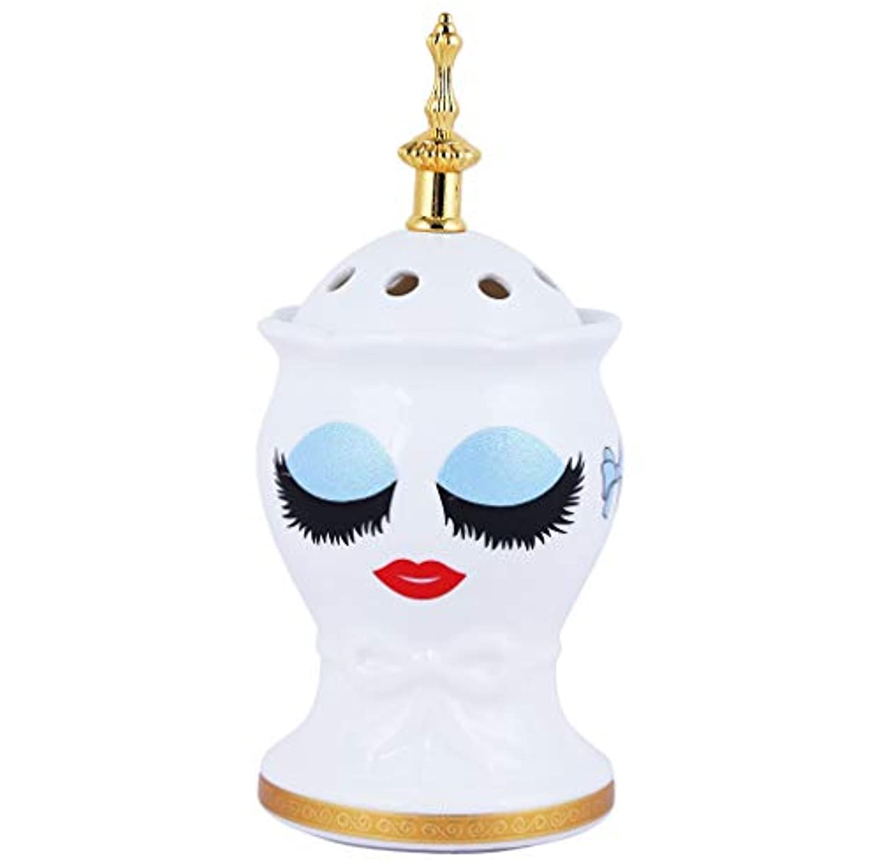 大思慮のないアンタゴニストNexxa Beautiful Ceramic Incense Bakhoor/Oud Burner Frankincense Incense Holder with Attractive Eyes, Non Electric...