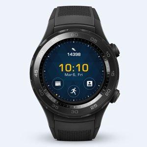 ファーウェイジャパン WATCH2/Sport/LEO-B09/Carbon Black HUAWEI WATCH 2/Carbon Black/55021740