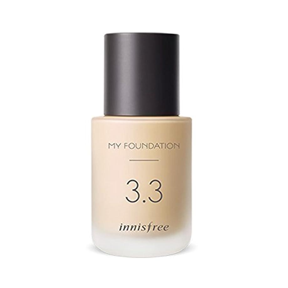 純正知り合い背が高いイニスフリーMy Foundation Glow 30ml「2018新製品」 Innisfree My Foundation Glow 30ml