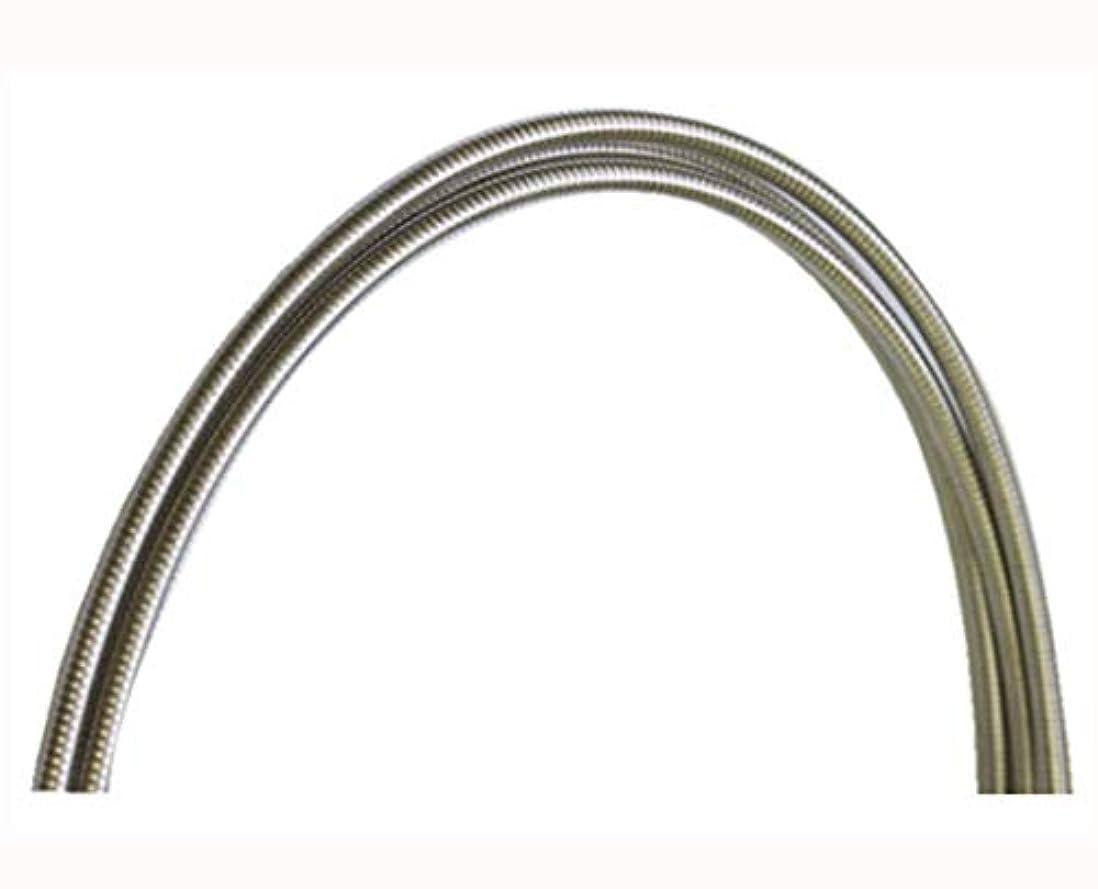 商標そよ風発音NISSEN(日泉) ステンレス ブレーキアウターケーブル (外径:5mm 長さ:2m) [クリアー]