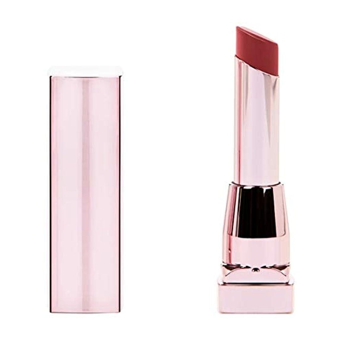 シーフード大統領おなじみの(6 Pack) MAYBELLINE Color Sensational Shine Compulsion Lipstick - Scarlet Flame 090 (並行輸入品)