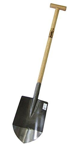 【職人手造り純日本製】矢羽根本家 本鋼円匙 1号(黒) 全長1040mm【まるで刃物の切れ味!】