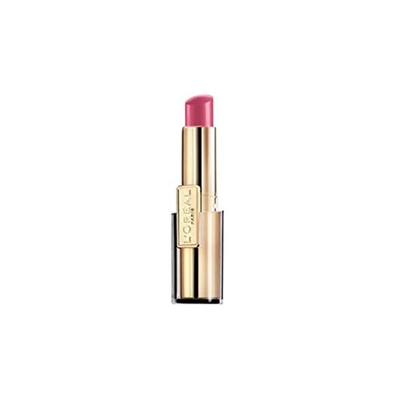 ようこそ池赤字L'OREAL - Rouge à lèvres - ROUGE CARESSE - 003_LOVELY ROSE