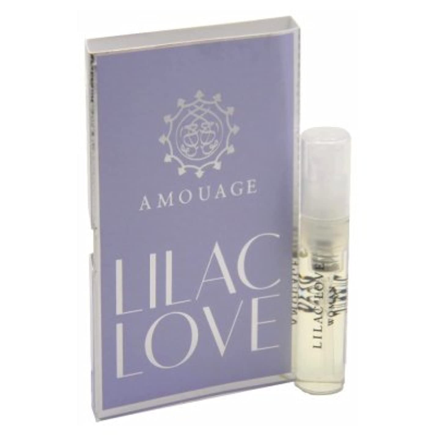 慣性好戦的な特別なAmouage Lilac Love EDP Woman Vial Sample 2ml(アムアージュ ライラック ラブ ウーマン オードパルファン 2ml)[海外直送品] [並行輸入品]