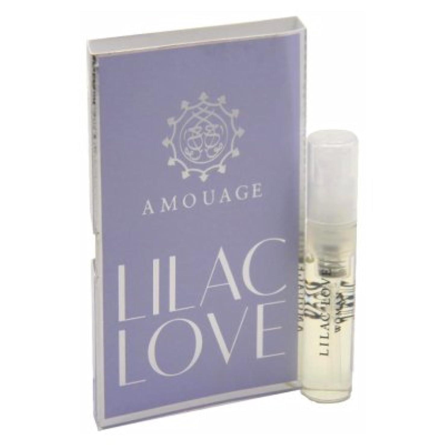 スチュアート島否定する陽気なAmouage Lilac Love EDP Woman Vial Sample 2ml(アムアージュ ライラック ラブ ウーマン オードパルファン 2ml)[海外直送品] [並行輸入品]