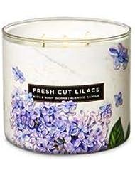 【Bath&Body Works/バス&ボディワークス】 アロマキャンドル フレッシュカットライラック 3-Wick Scented Candle Fresh Cut Lilacs 14.5oz/411g [並行輸入品]