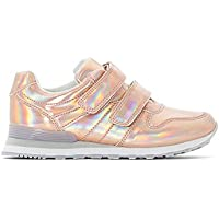 La Redoute Collections Girls Holographic Low Tops, Sizes 8.5-6