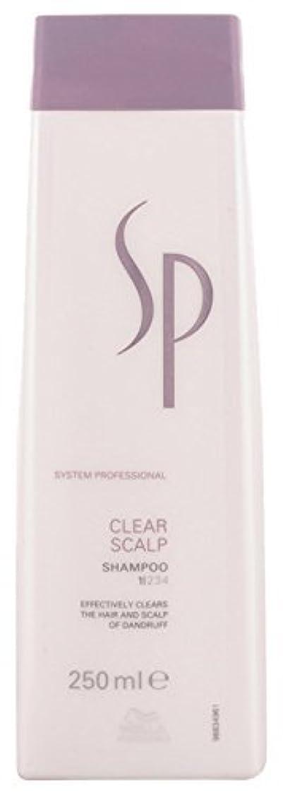適合代理人ジョリーWella Sp Clear Scalp Shampoo By Wella for Unisex - 250 Ml Shampoo 250 Ounce [並行輸入品]