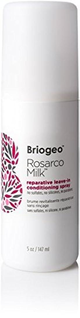 パース描写エラーBriogeo Rosarco Milk Reparative Leave In Conditioning Spray - 5oz [並行輸入品]