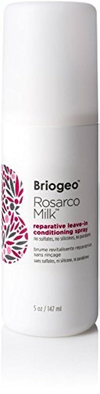 インドラテンビバBriogeo Rosarco Milk Reparative Leave In Conditioning Spray - 5oz [並行輸入品]