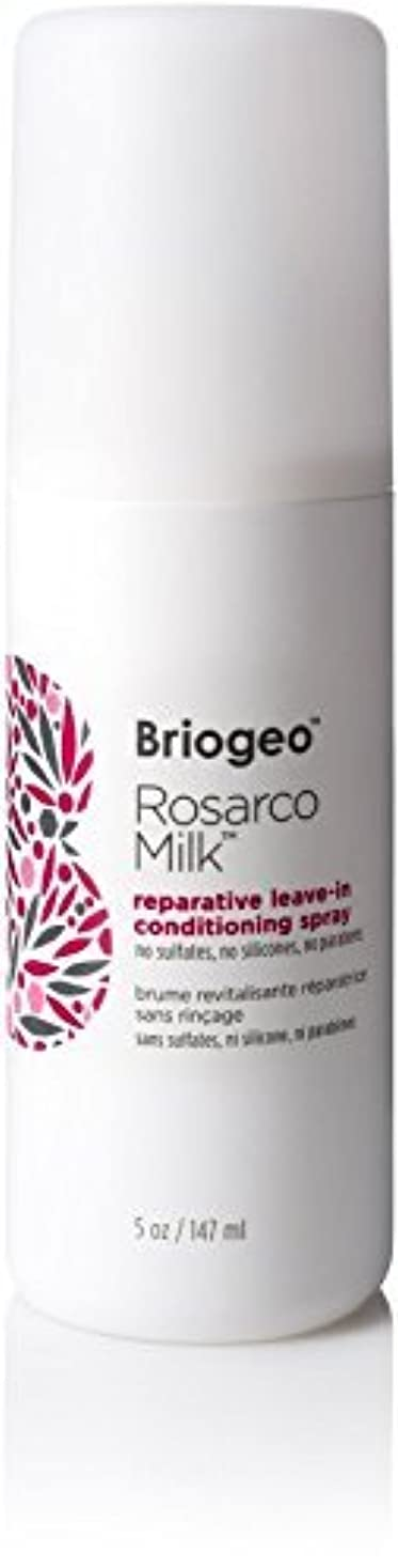 親密なシルエット堀Briogeo Rosarco Milk Reparative Leave In Conditioning Spray - 5oz [並行輸入品]