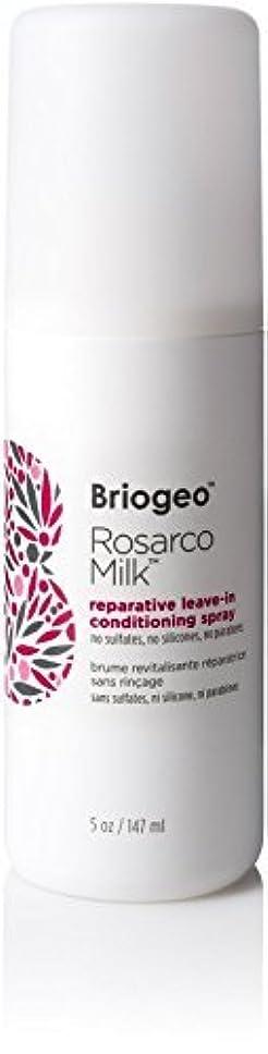 複雑なバンガローバケツBriogeo Rosarco Milk Reparative Leave In Conditioning Spray - 5oz [並行輸入品]