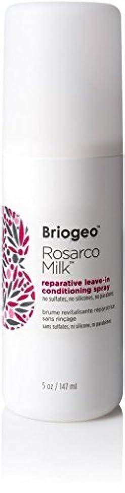 偶然の建設不要Briogeo Rosarco Milk Reparative Leave In Conditioning Spray - 5oz [並行輸入品]