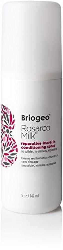 想定ホステス高層ビルBriogeo Rosarco Milk Reparative Leave In Conditioning Spray - 5oz [並行輸入品]