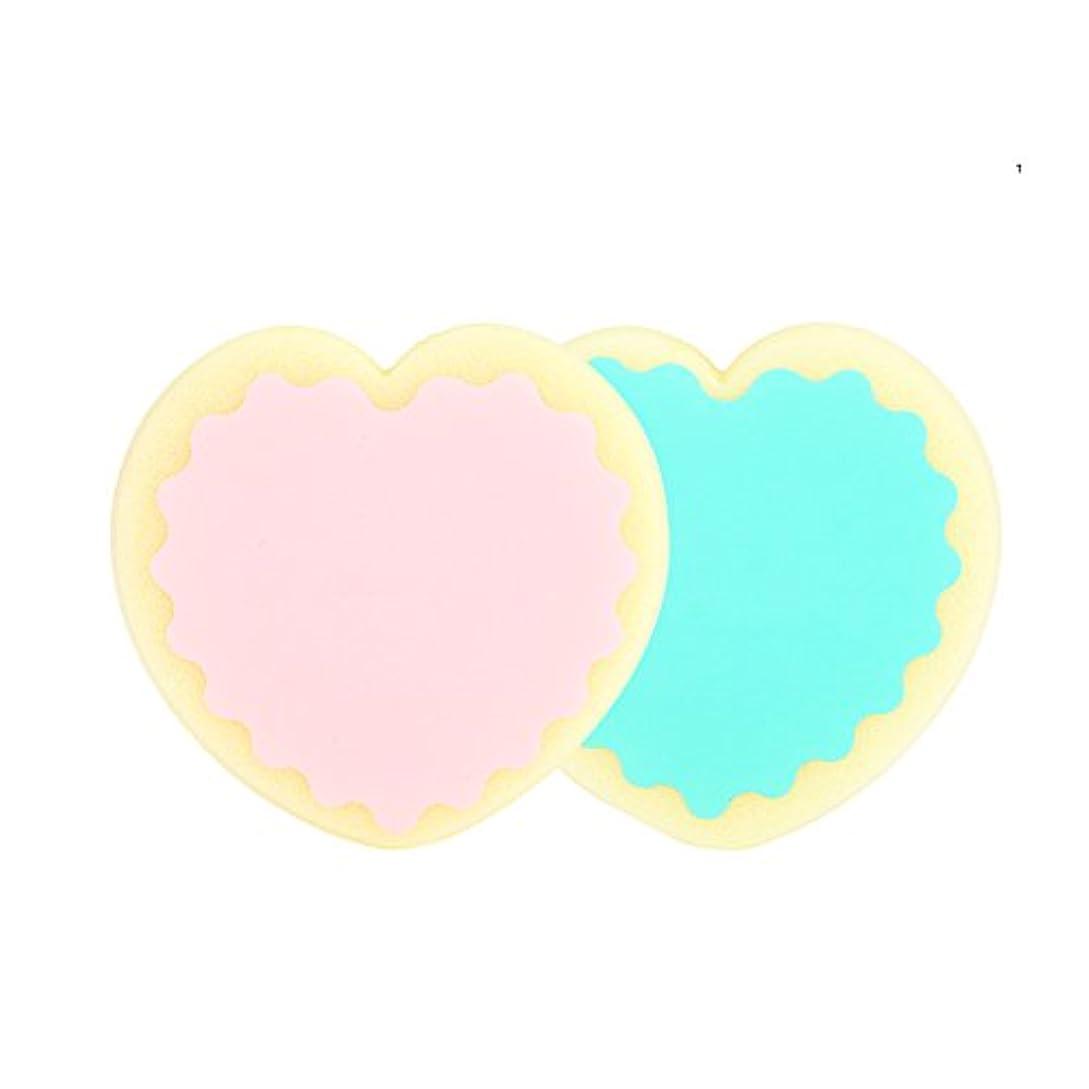 ケーキ肩をすくめる硬さSoarUp 脱毛パッド 脱毛スキンケアツール 除毛 両面用 柔らかい 低刺激 ハートシェイプ ウォータードロップシェイプ(ハートシェイプ)