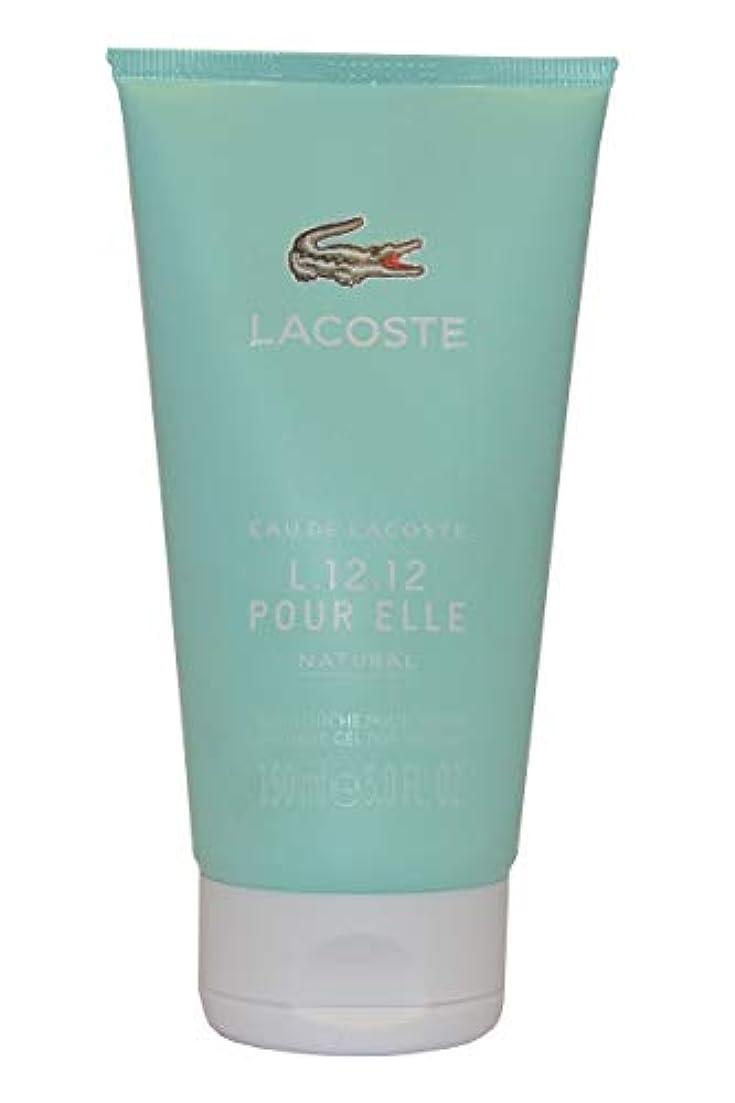 優雅サスペンドアーネストシャクルトンEau de Lacoste L.12.12. Pour Elle Natural by Lacoste Shower Gel 150ml by Lacoste