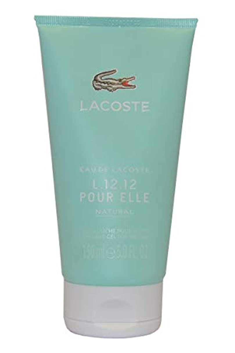 小道宿題野心Eau de Lacoste L.12.12. Pour Elle Natural by Lacoste Shower Gel 150ml by Lacoste