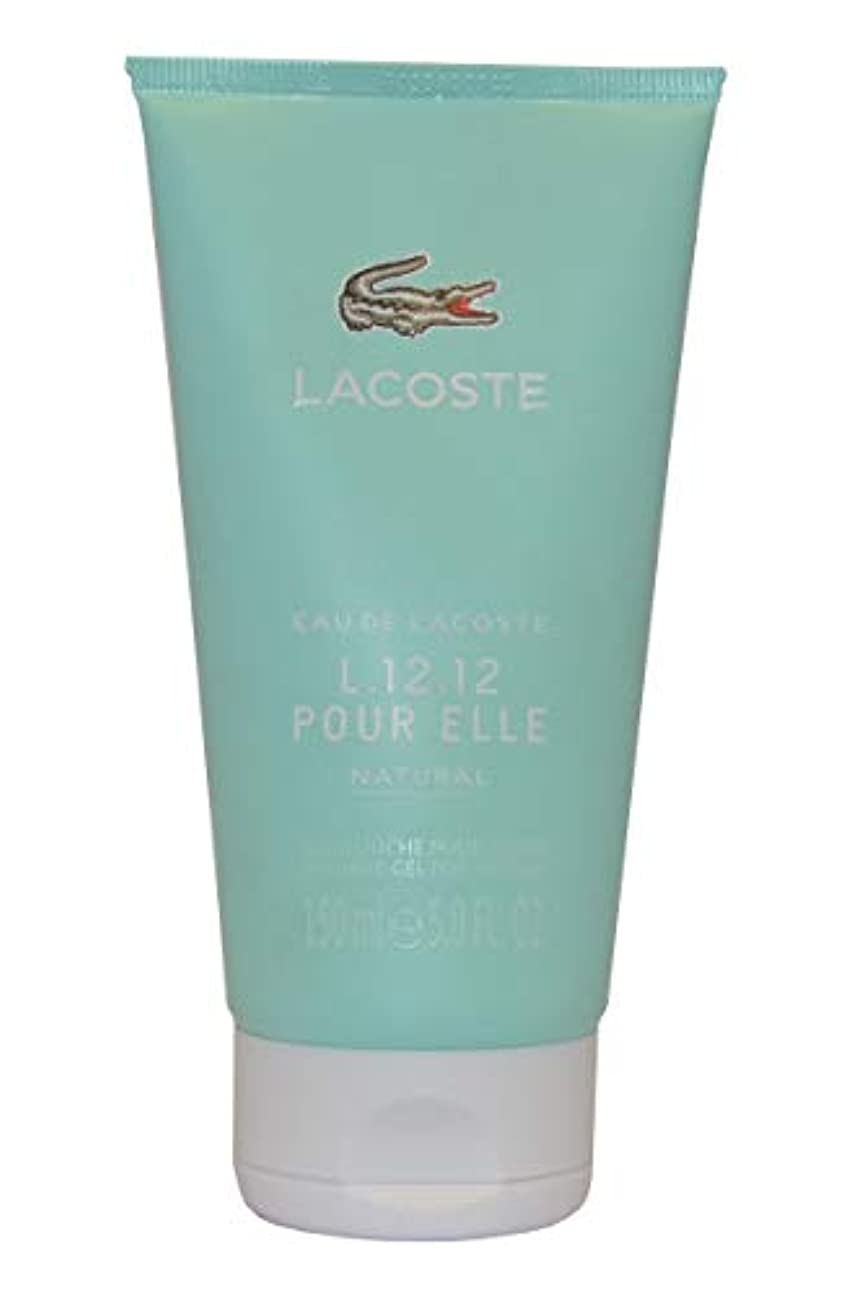 ウォーターフロント付添人カウントアップEau de Lacoste L.12.12. Pour Elle Natural by Lacoste Shower Gel 150ml by Lacoste