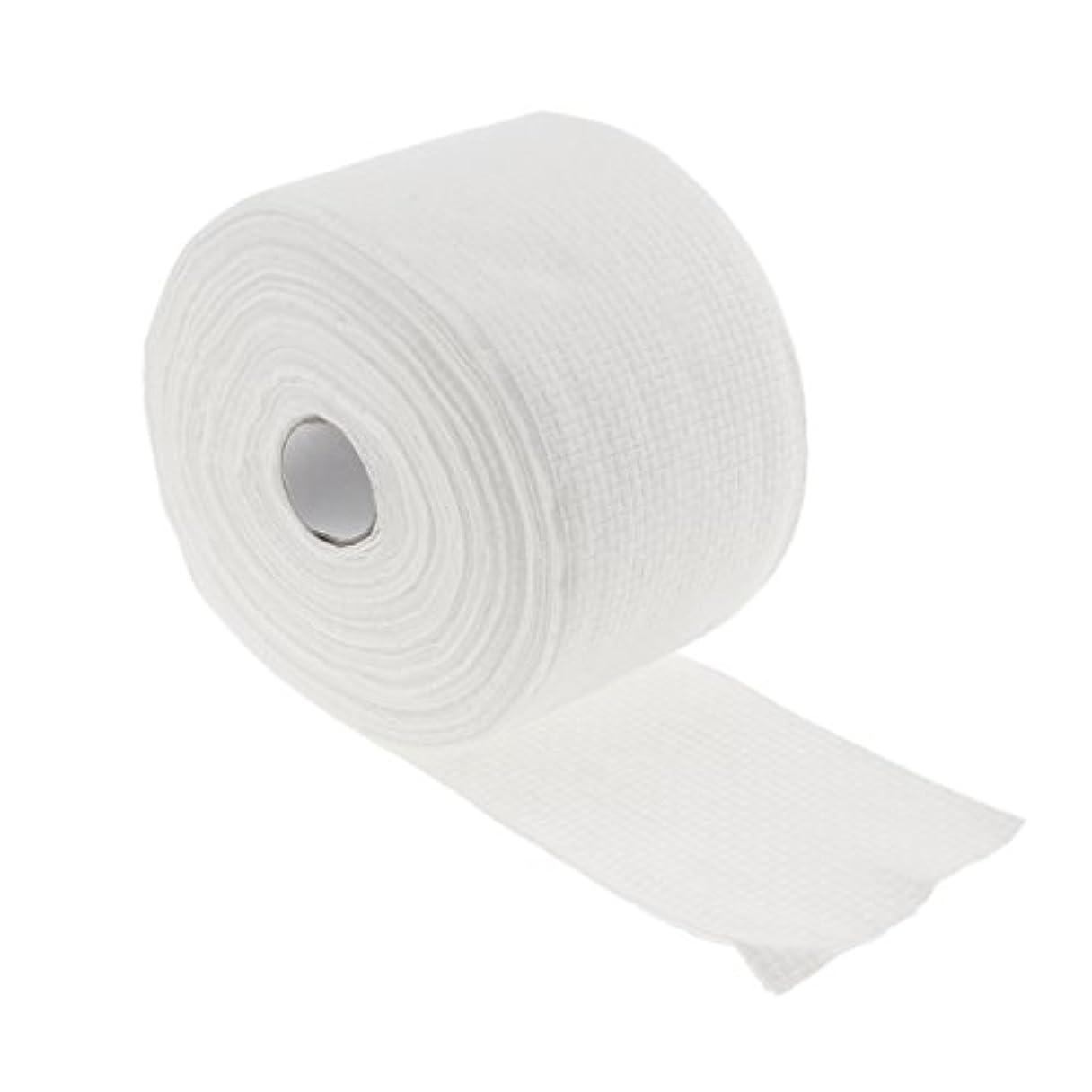 十分に自宅でメイド1ロール30メートル使い捨てタオル繊維クレンジングフェイシャルワイプメイクリムーバー - #1