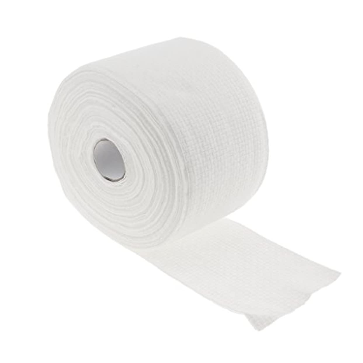 気付く移植アイデアCUTICATE 1ロール30メートル使い捨てタオル繊維クレンジングフェイシャルワイプメイクリムーバー - #1